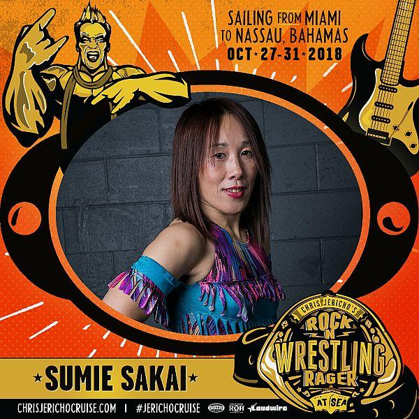 SUMIE SAKAI IS ON BOARD!