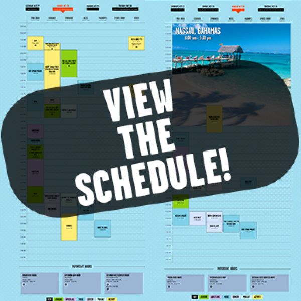View & Customize Your Schedule