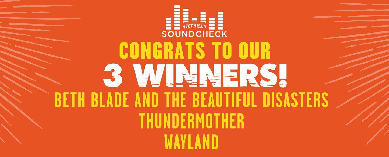 Soundcheck Winners