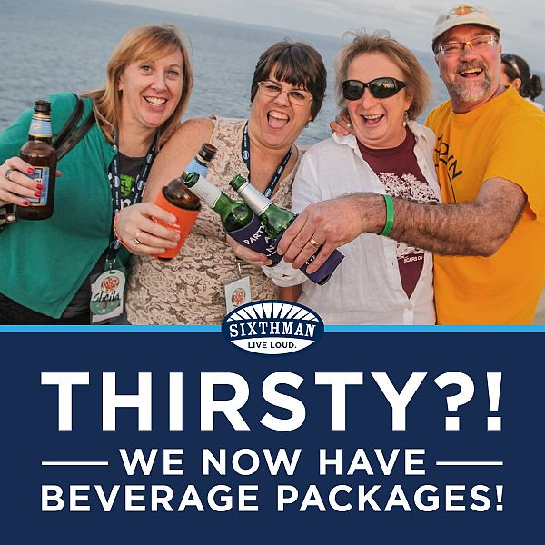 Bring On The Beverage Packages!