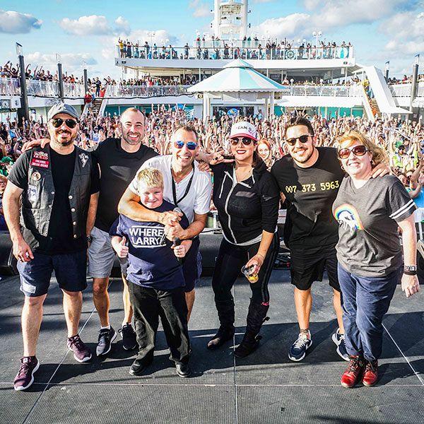 Festival details impractical jokers cruise activities with the tenderloins m4hsunfo