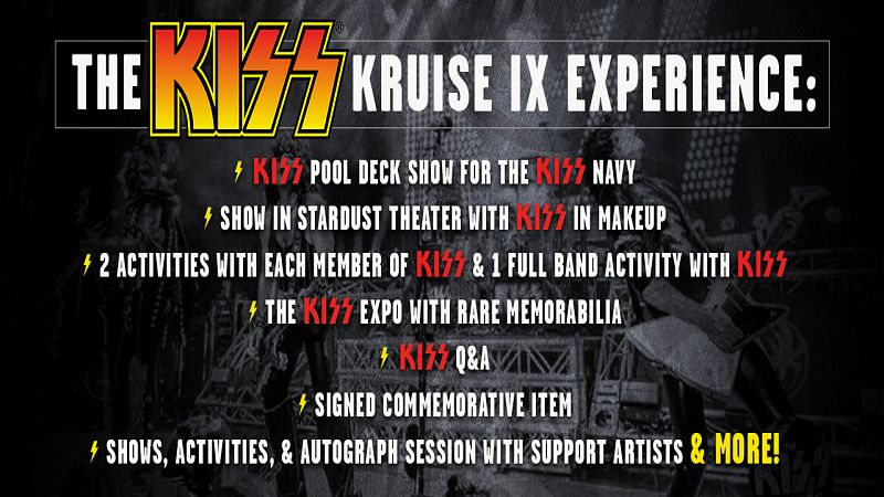 The Kiss Kruise Ix October 30 November 4 2019