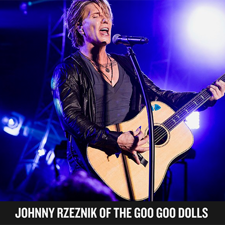 Welcome Johnny Rzeznik to the Lineup!