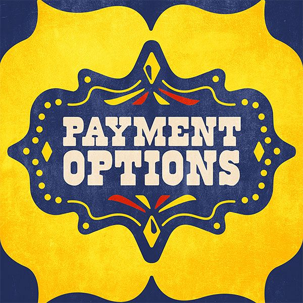 We Have Flexible Payment Options!