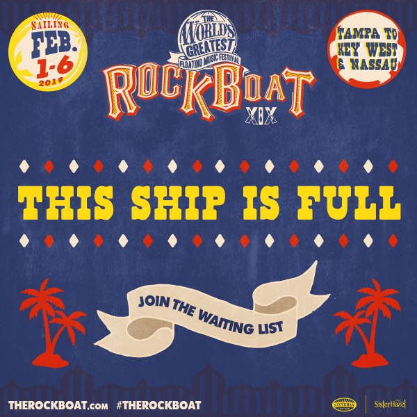 This Ship Is FULL! Join The Waiting List!