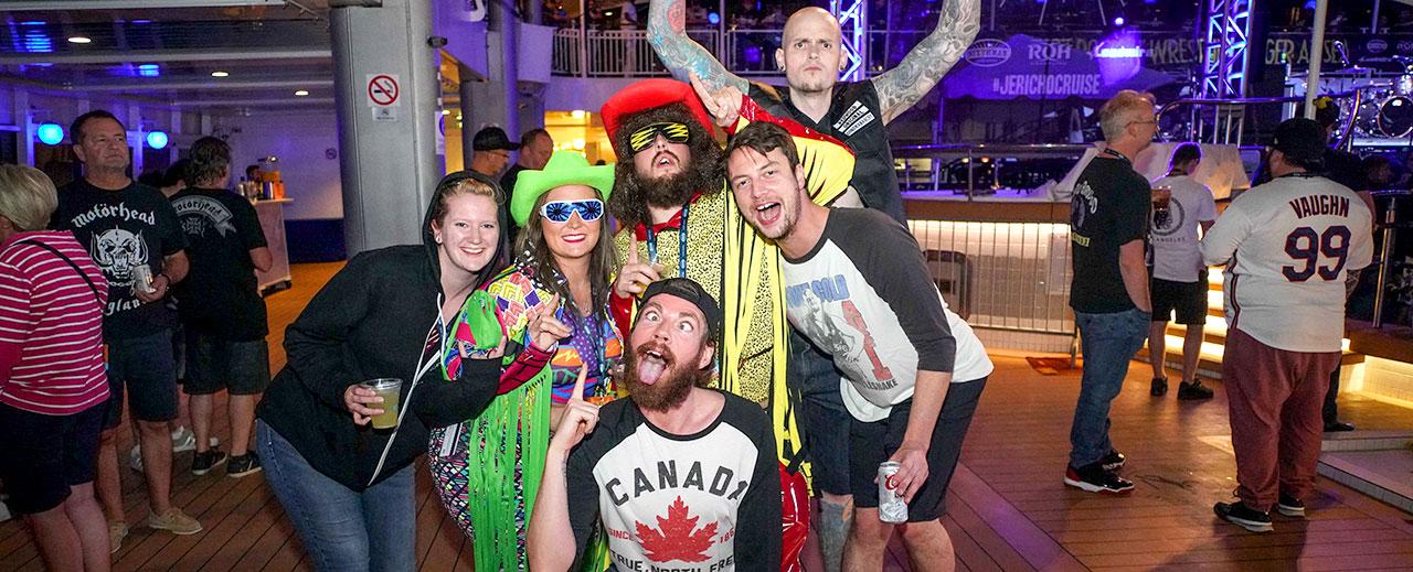 Chris Jericho's Rock 'N' Wrestling Rager at Sea Theme Night