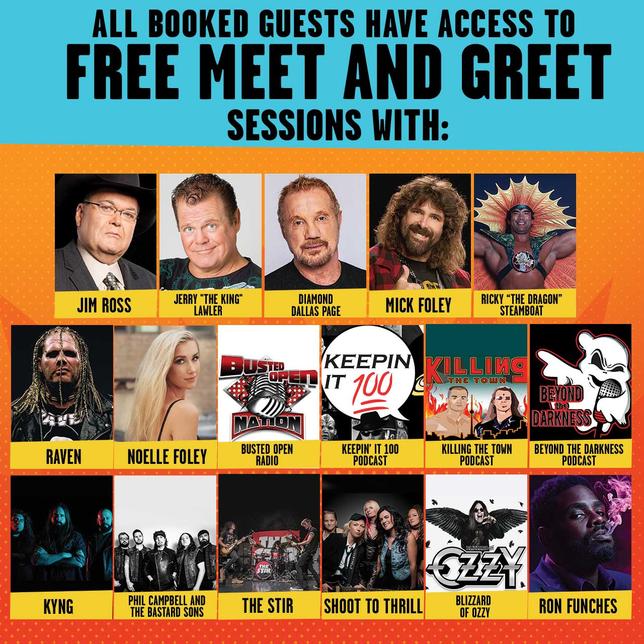 Meet & Greet Sessions