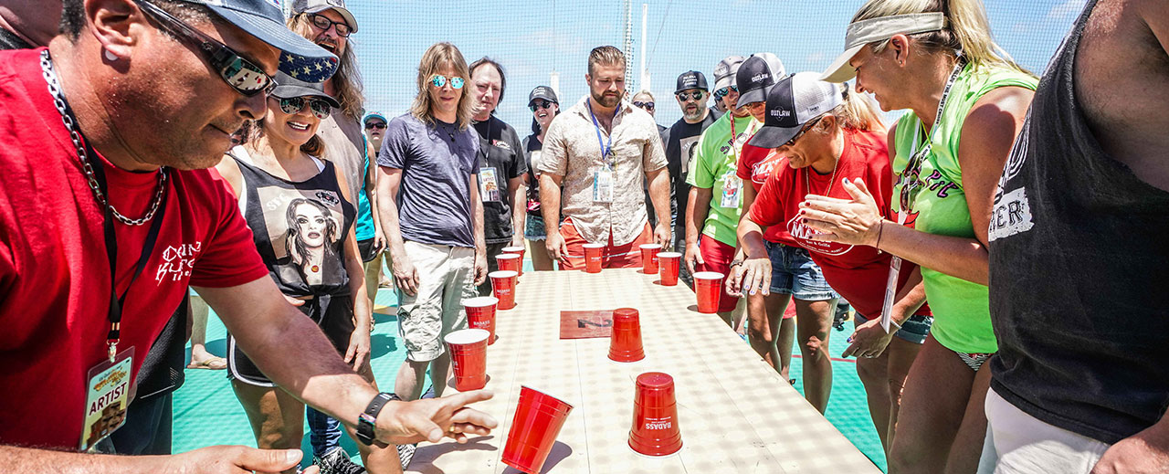 Badass Flip Cup Tournament