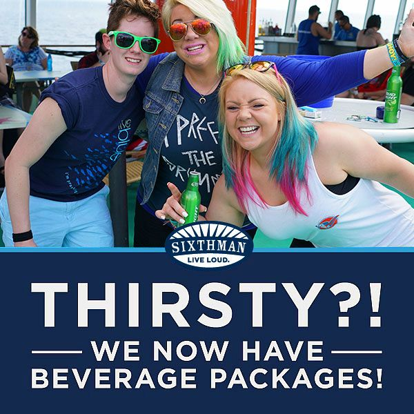 Beverage Packages Now On Sale