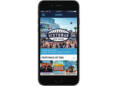 Sixthman Mobile App