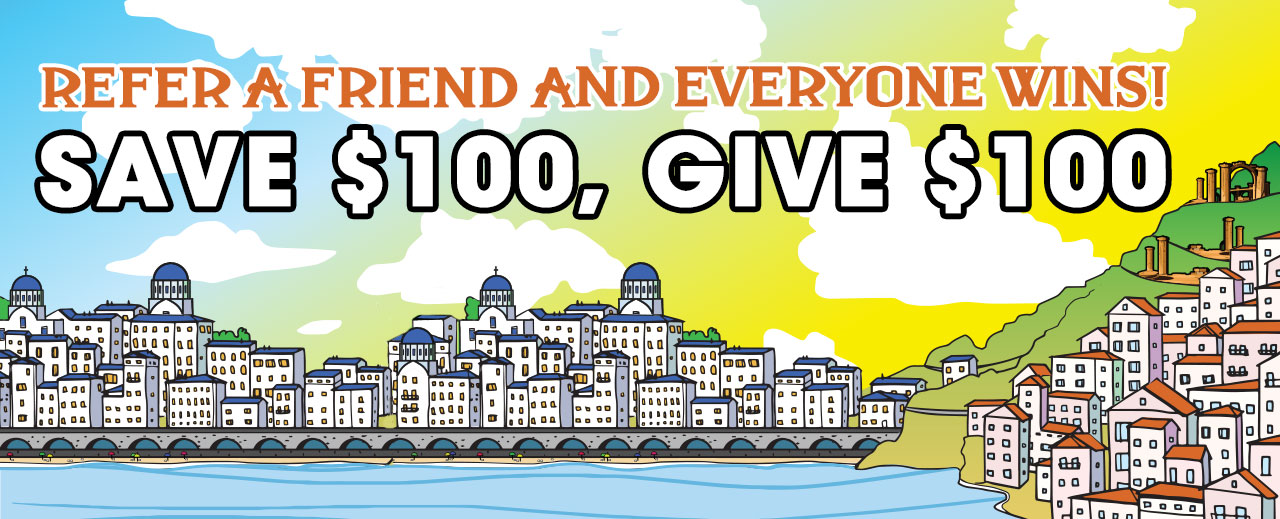 Refer A Friends And Everyone Wins!