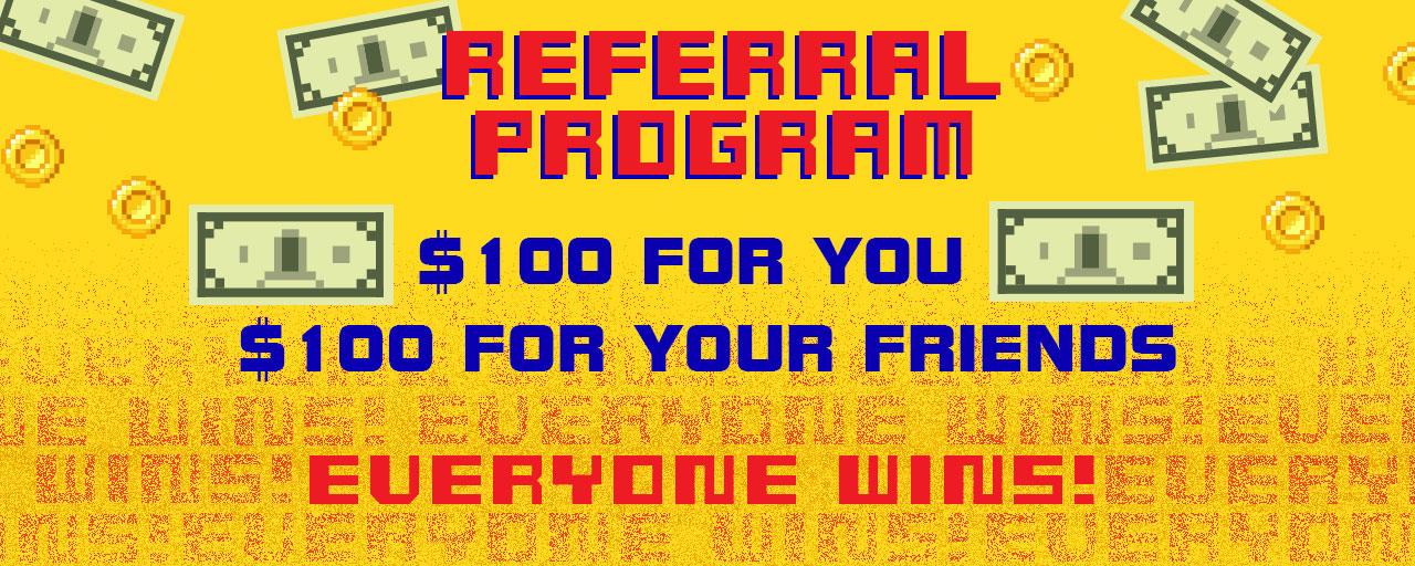 Bring Friends, Get Cash